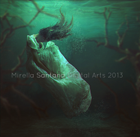 Dark Water II by MirellaSantana