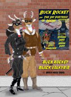 Buck Rocket and Black Valkyrie by Boss-Hoss1