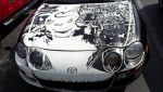 Detail of Sharpie Toyota Celica by AllHailZ