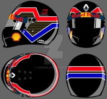 Helmet design - Sao Paulo city (Black Version) by GusBor