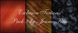 Exclusive Textures, Pack 2 by Jenna-Rose