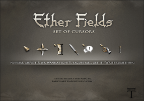 Set of Cursors by tadziad