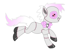 Deadly Cute Voodoo Pony - Auction CLOSED by SchattenspielKat