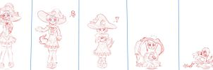 AgeRegression of Elin Witch (SKETCH) by tetokasane-04