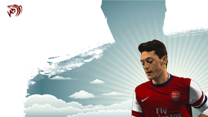 Mesut Ozil Vector by MDesign25