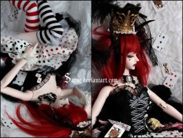 The Queen of Hearts 3 by Sarqq