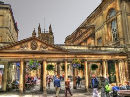 Bath City Centre by roodpa