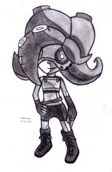 Idle Octoling by DrChrisman