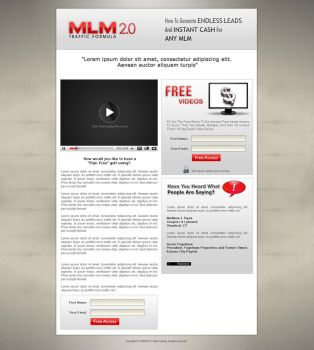 Landing Page by mistryputt