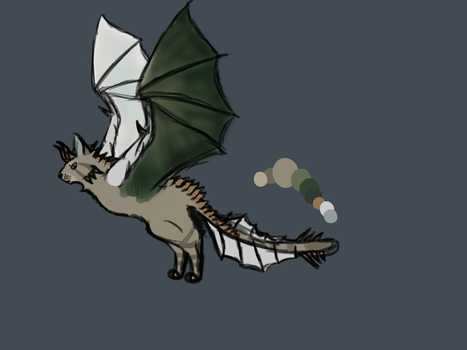 Wyvern Cat by pigeontree2000