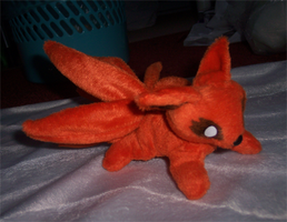Mini magnet plush: Kyuubi by goiku