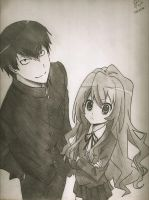 Toradora by DragonfireXAgent