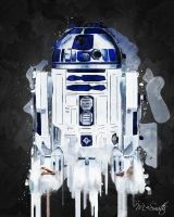 R2 Acrylic By Mike Smith by mikesmithimages