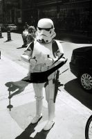 The Stormtrooper On Yonge Street by Neville6000