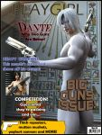 Playgirl Cover March 08-Dante by 3D-Fantasy-Art
