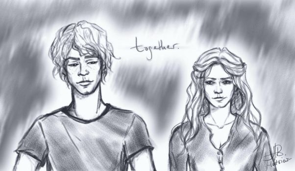 Bellarke sketch by lostview