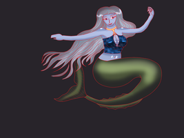 Colored Mermaid by gtstyling32