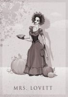 Mrs. Lovett by ThePea