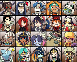Skullgirls by kaox2