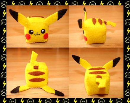 Nell's Pikachu Cube (Sold) by TheStarKeepers