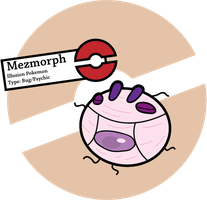 Fake Pokemon: Mezmorph by Sageroot