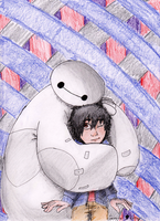 BIG HERO 6- Hugs feel better by KatzuXD