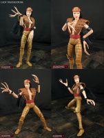 Custom Marvel Legends lady Deathstrike Figure by Jin-Saotome