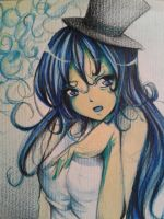 Girl with a hat by Yuuki-Tachi