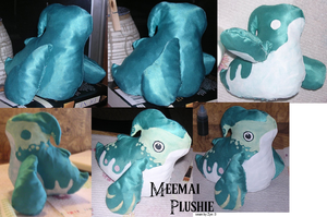 Meemai Plushie by zynwolf