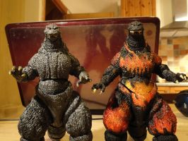 Custom Figure - Monsterarts Godzilla 2.0 (3/3) by GIGAN05