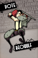 Beowulf for Skullgirls by Lo-thar