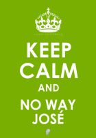 Keep Calm and No Way Jose by empegz
