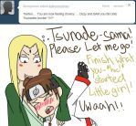 GAAHH!! TSUNADE-SAMA!! by Cheese1300