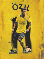Mesut Ozil - Poetry in motion by AleSFA