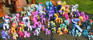 My MLPFIM Collection 04/16/13 by Phoenix001