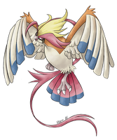 Mega Pidgeot by allocen