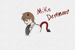 Mike Demmon colored by CrypticCharmander