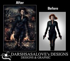 Scarlett Before and After by DARSHSASALOVE