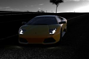 a lambo in toscana by nuttbag93