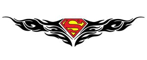 Superman Tribal by Wolvris