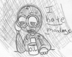 9 hates Mondays by Toxicated-kisame52