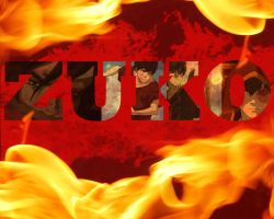 Prince of Flame: Zuko by freedomfighter12
