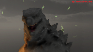 MMD Godzilla - The King of All Monsters by MMDCharizard