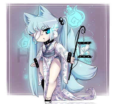 Vision Kitsune Adoptable [ closed ] by HomoAdopts