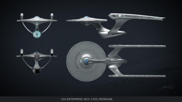 Enterprise redesign by Mechagen