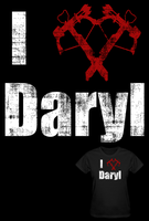 The Walking Dead I Love Daryl T Shirt by Enlightenup23