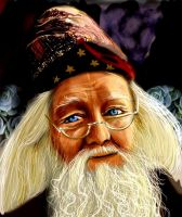 Dumbledore by BloodyWoman