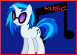 Vinyl Scratch Music sig by AliceHumanSacrifice0