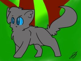 I Drew This With One Finger :O by PanthergazeKitty