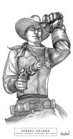 Sparks Nevada, Marshal on Mars by calebcleveland
